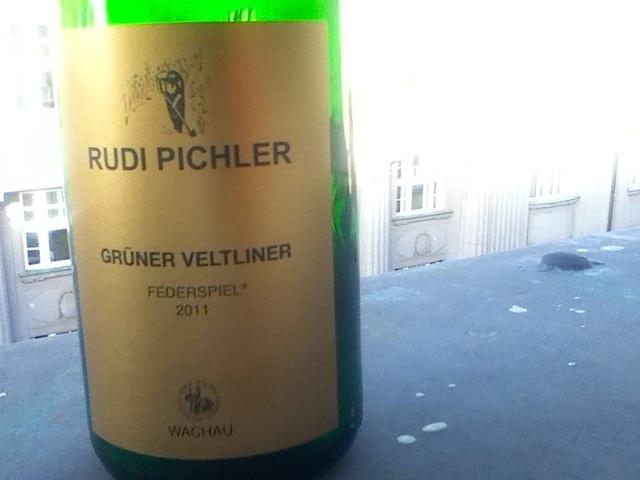 Rudi Pichler Gruner Veltliner wachau 2011