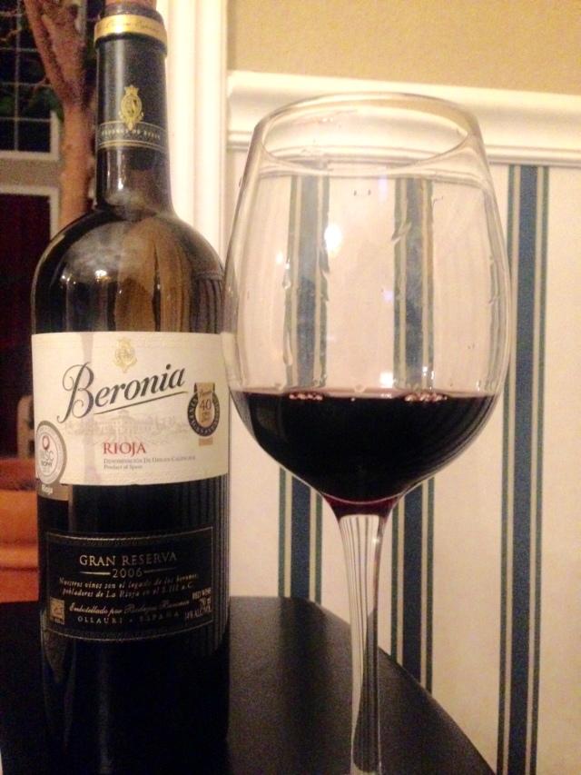 Beronia Rioja Spain Gran Reserva 2006