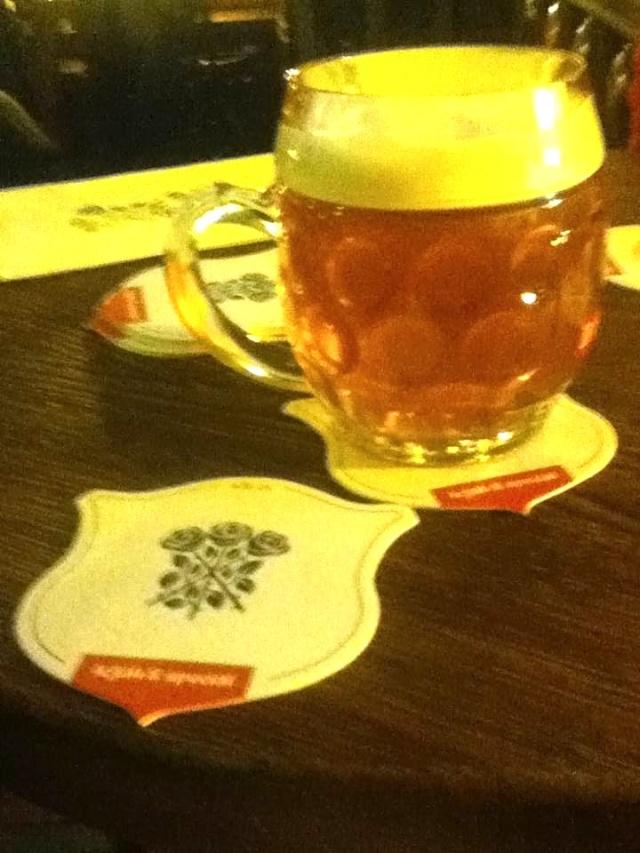 U Tri Ruzi The Three Roses lager beer Prague