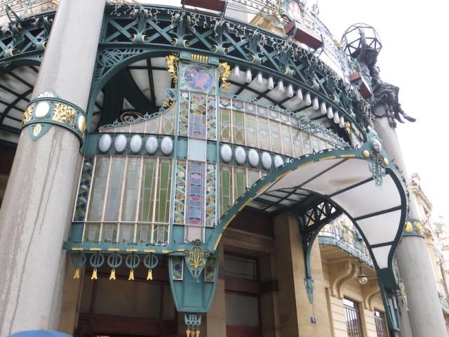 Art Nouveau Facade Prague