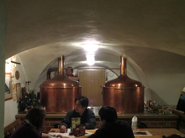 Budvar Hall Kettles Prague