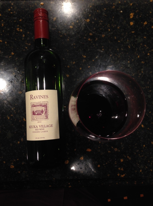 Ravines, Keuka Village Red Blend Finger Lakes New York 2013