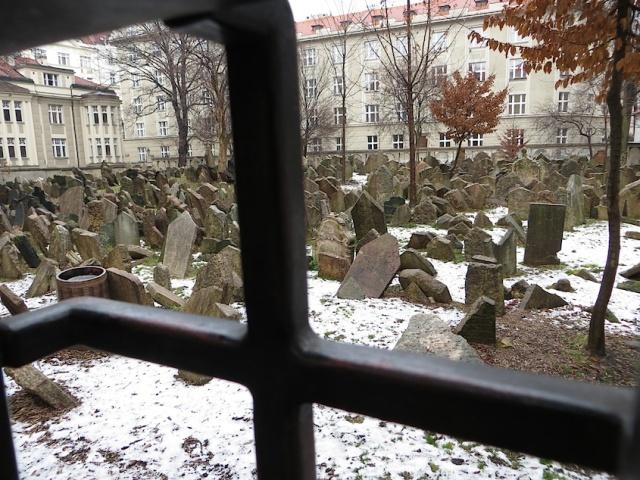 Jewish Graveyard Prague