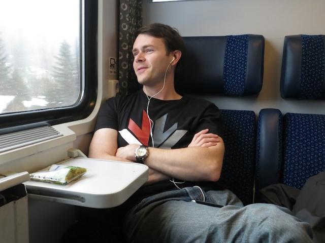 Prague to Berlin Aaron Train