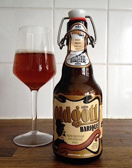 U Medvidku Oldgott Barique Beer
