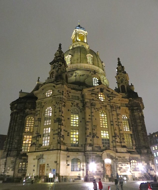 Dresden The Frauenkirche Church of Our Lady