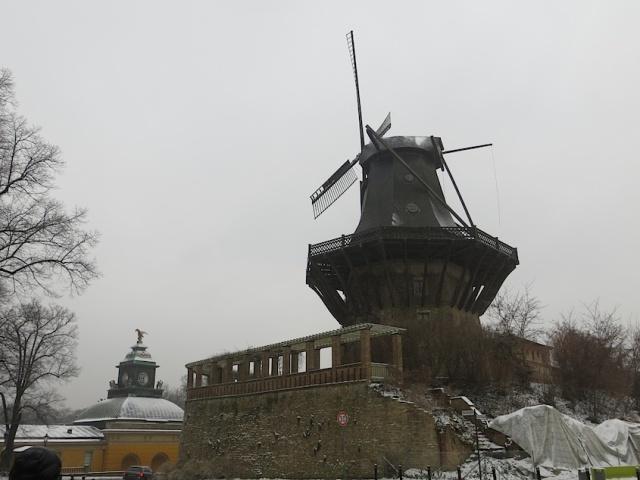 Mill Schloss Sanssouci