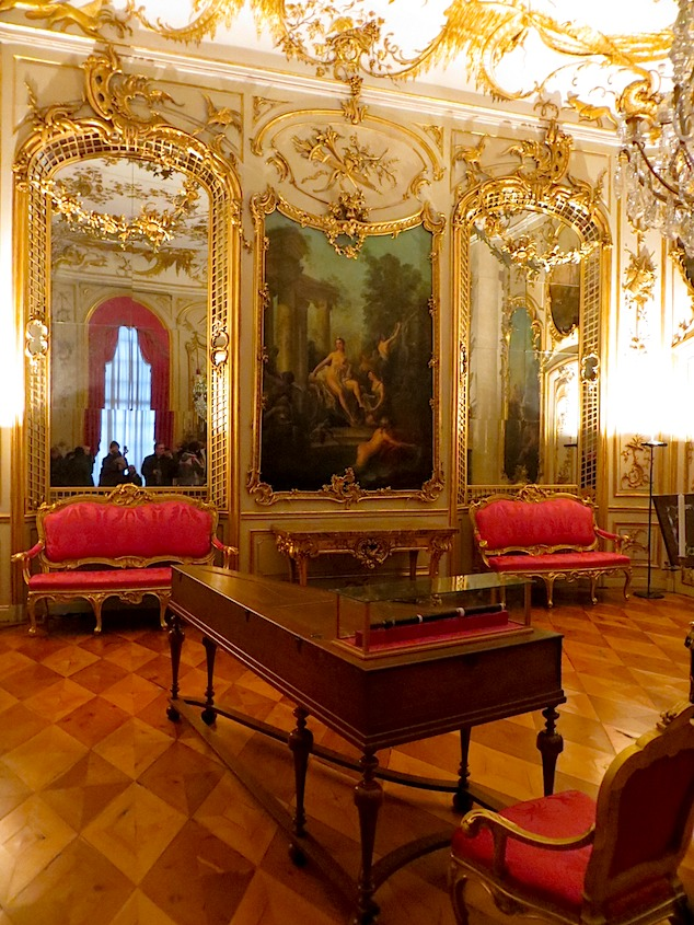Sanssouci Piano Room