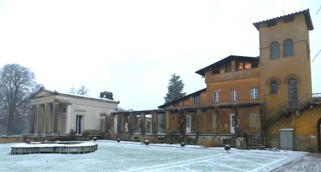 Tuscan Villa and Roman Temple at Sanssouci