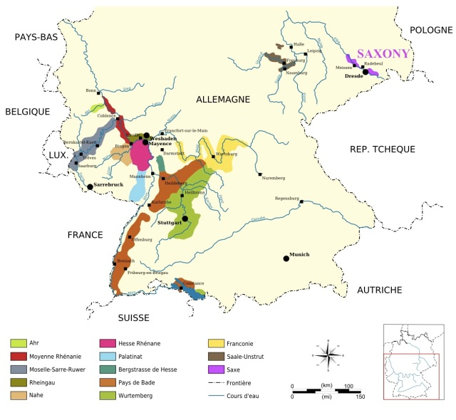 Wine Regions Germany