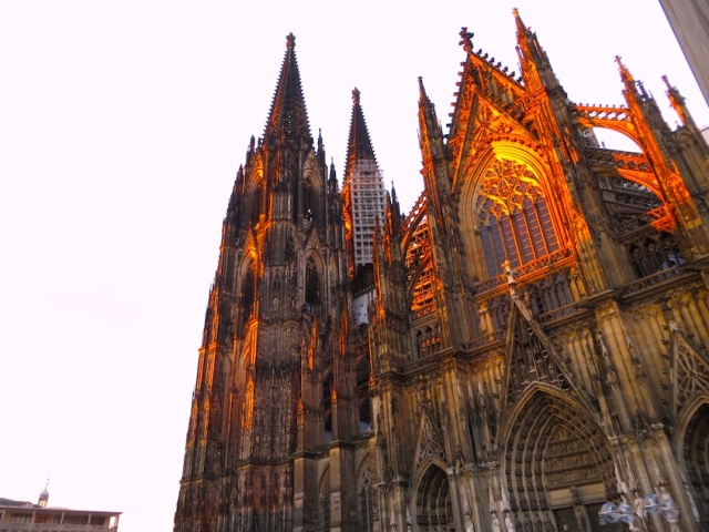 Cologne Cathedral Sunset