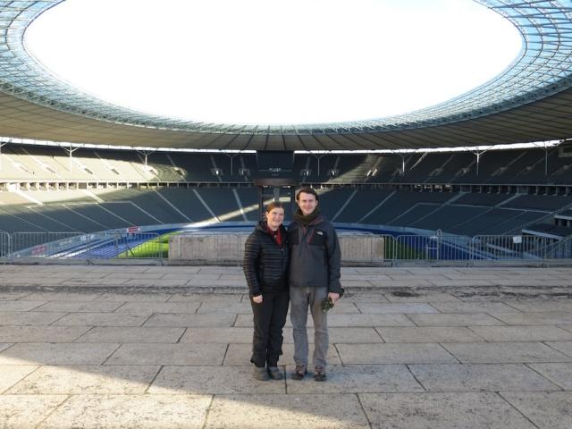 Nazi Stadium Interior