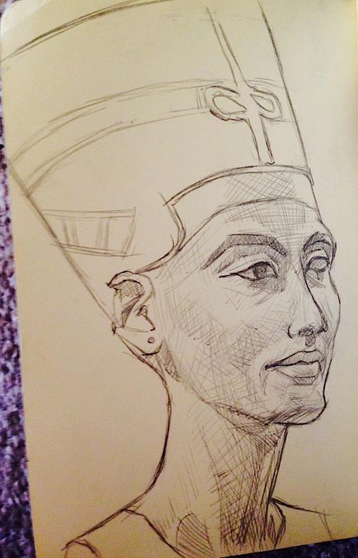 Nefertiti Berlin Museum Island