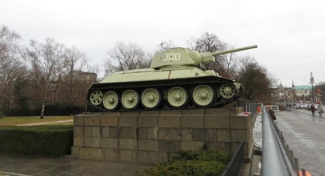 Soviet Tank Berlin Memorial