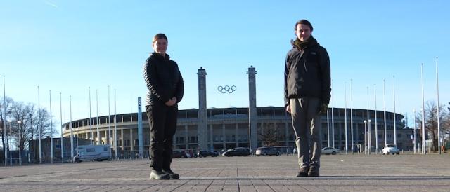 Tracy and Aaron Nazi Olympics