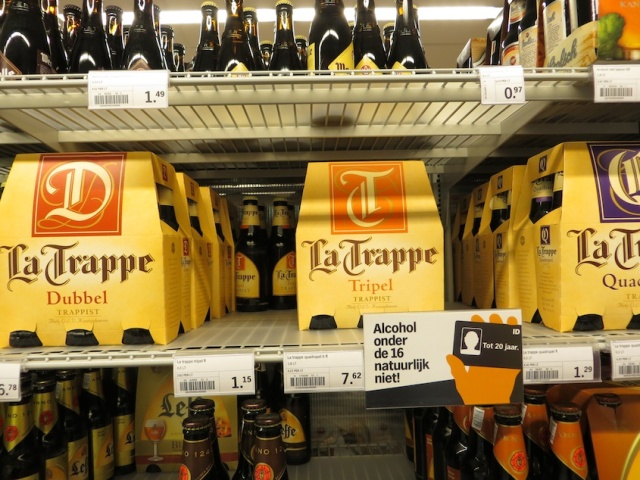 La Trappe Beer Shelf