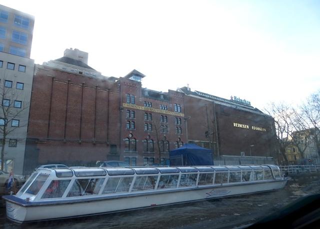 Heineken Brewery Boat Tour