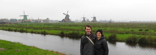 Windmills Holland Amsterdam