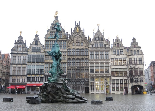 Antwerp Guilds Square