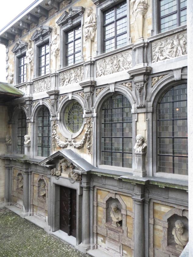 Antwerp Rubens House Exterior