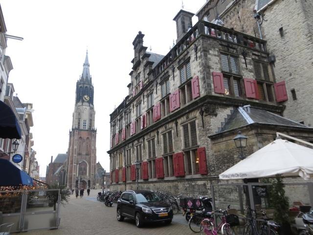 Delft Basilica Square
