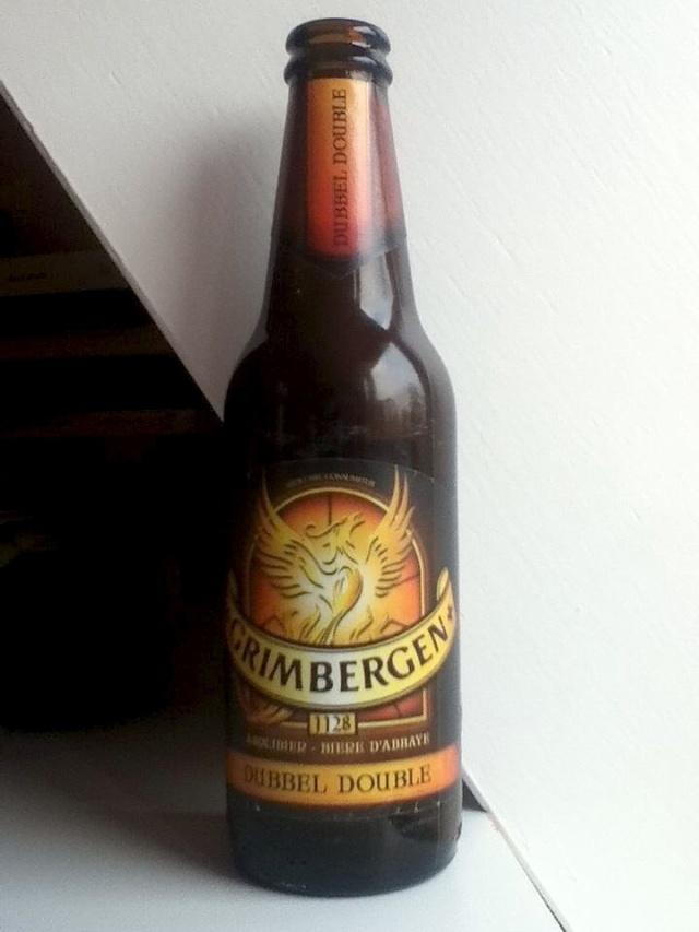 Grimberger Abbey Dubbel 1128 Beer Enschede Holland.