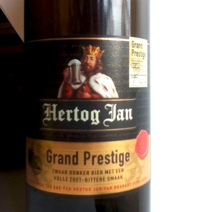 Hertog Jan Grand Prestige Zara Donker bier Holland