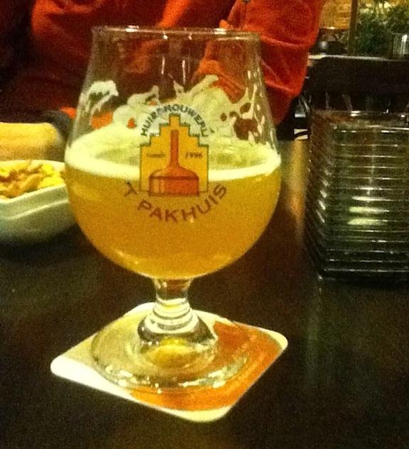 Huisbrouwerij T Parkhuis Antwerps Blond beer Antwerp Belgium