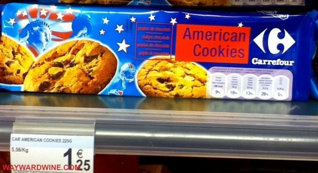 American Cookies Carrefour Bruges Belgium