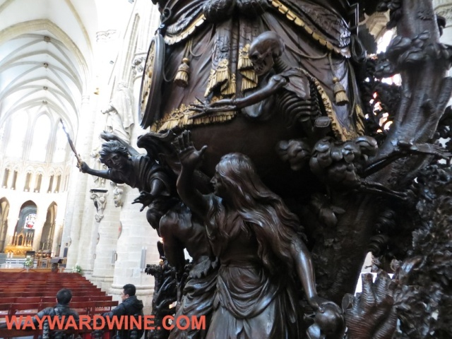 Brussels Cathedral Pulpit