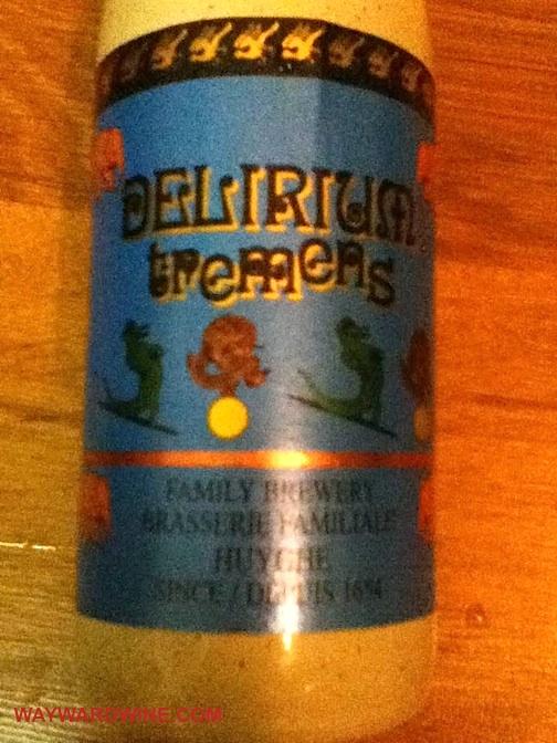 Delirium Tremens Belgium Beer