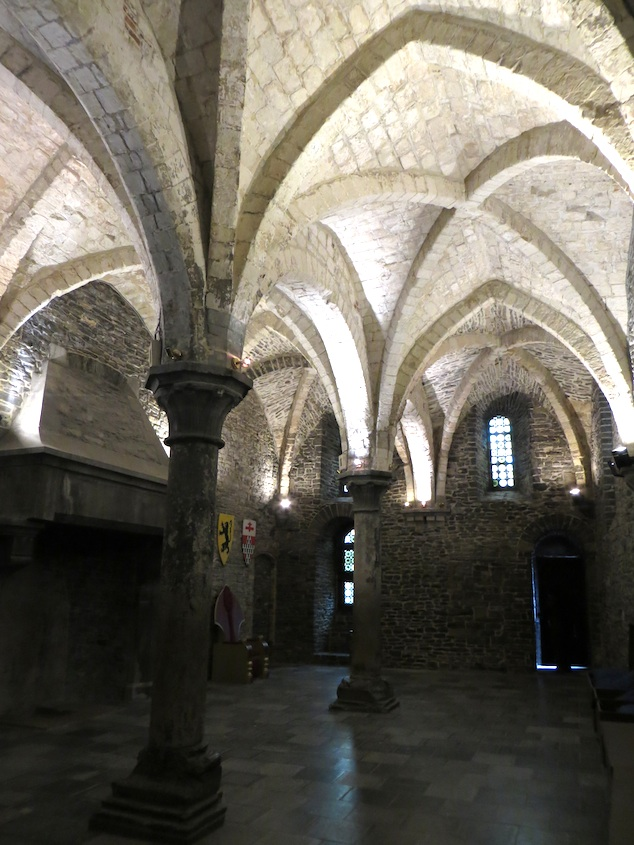 Ghent Castle arches