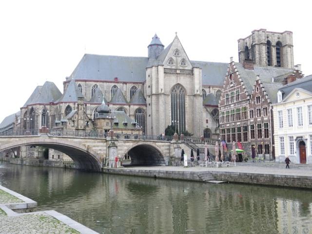 Ghent Church Canal