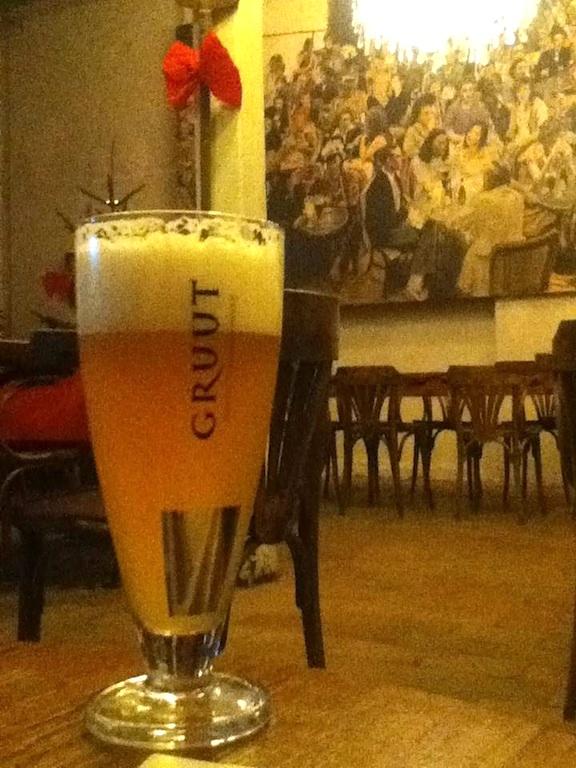 Ghent Gruut Brewery Beer