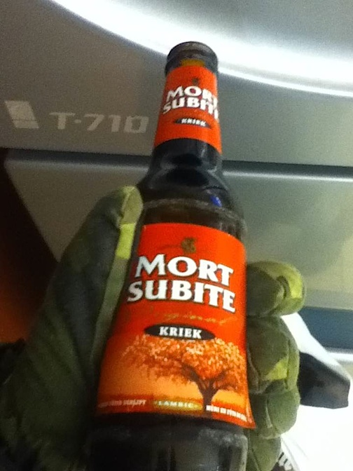Mort Subite Kriek Beer Beligum