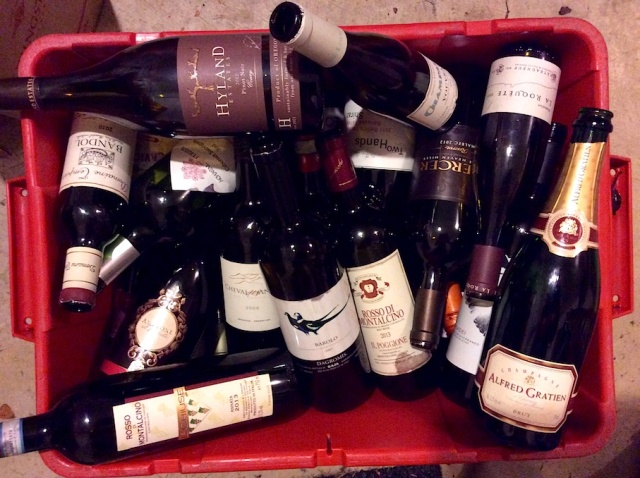 Recycling and Regret Wine