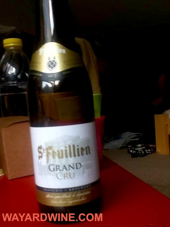 St Feuillian Grand Cru Beer