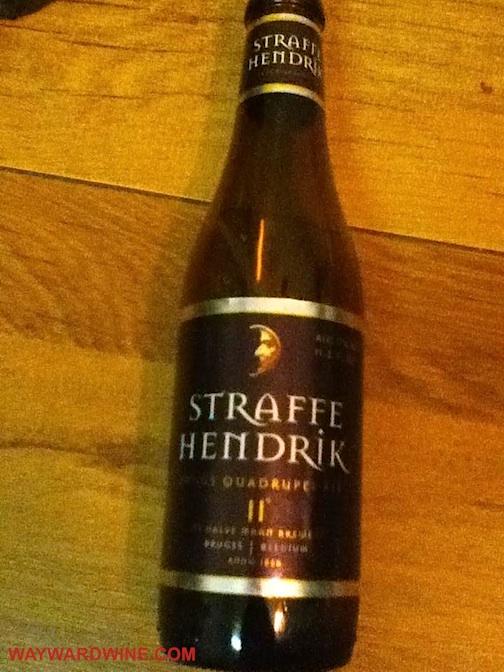 Straffe Hendrik Quadrueple Beer Belgium