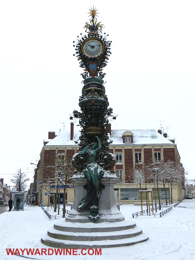 19th Century Clock Amiens
