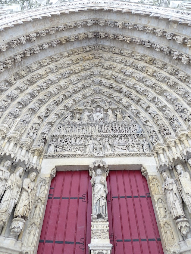 Amiens Cathedral Gate