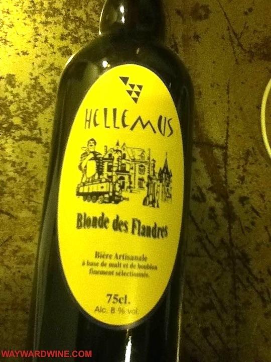 Hellemus Blond Flanders Beer