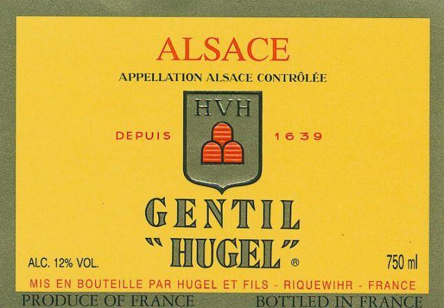 hugel gentil label