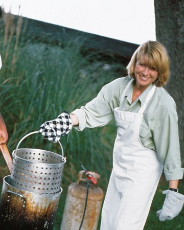Martha Stewart Deep Fried Turkey