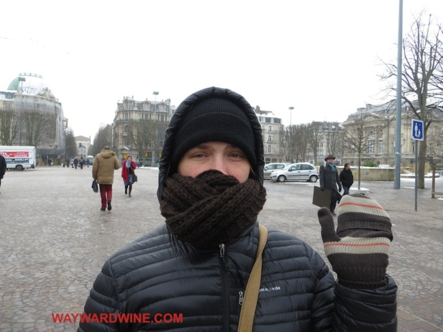 Tracy Freezes Lille