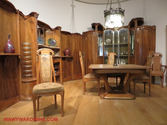 Art Nouveau Dining Room