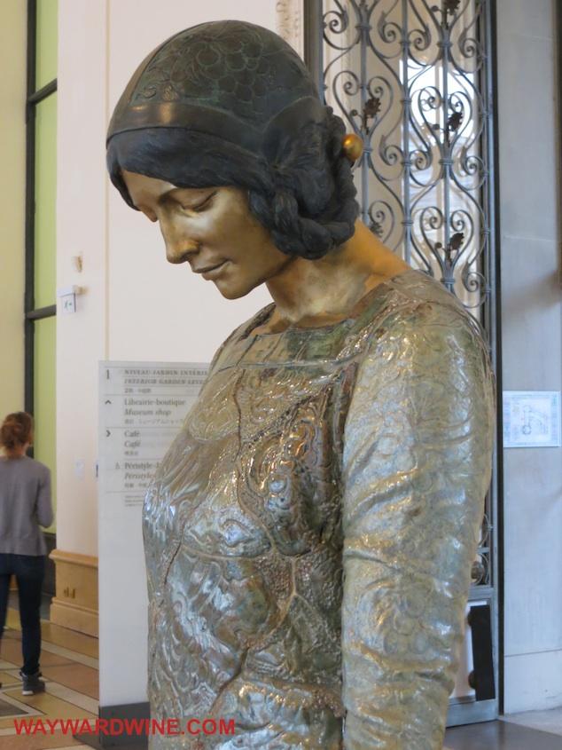 Art Nouveau Lady Petit Palais