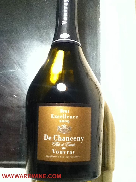 La Cave des Producers de Vouvray Brut Excellence de Chancy 2009