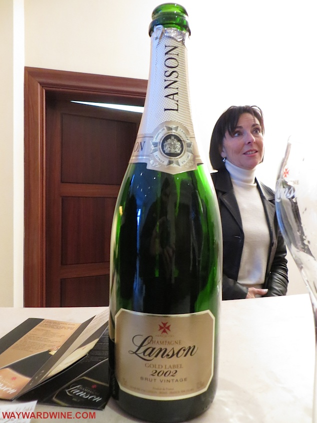 Lanson 2002 Gold Label Champagne France