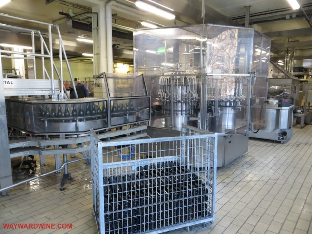Lanson Floor Capping Caging Champagne