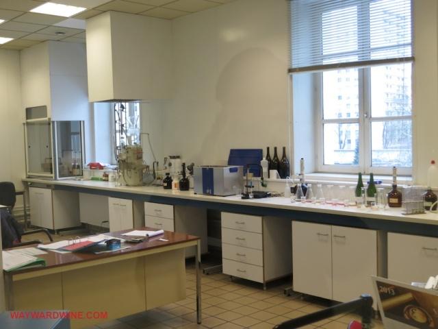 Lanson Lab Champagne